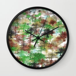 Oaks Pattern noproblem Wall Clock