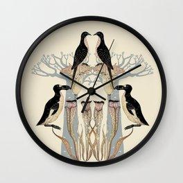 Extinct - Totem Wall Clock