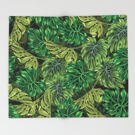 tropical haven 2 Throw Blanket