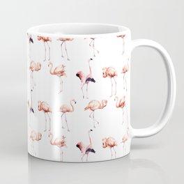 Flamingos_Large Coffee Mug