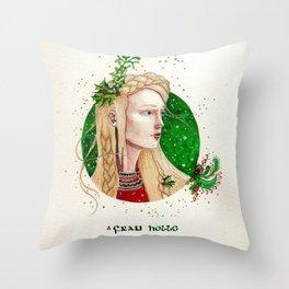 frau holle Throw Pillow