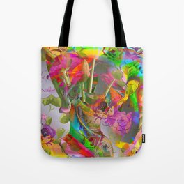 The Smell of Our Digital Flower Park Tote Bag