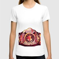 nba T-shirts featuring NBA CHAMPIONSHIP BELT by mergedvisible