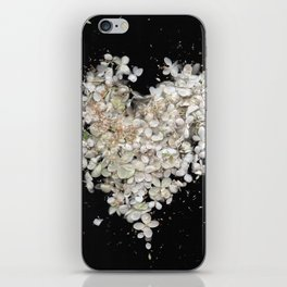 Heart Blossoms iPhone Skin