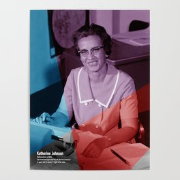 Women of NASA: Katherine Johnson Poster