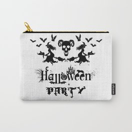 Happy Halloween Party -  Perfect gift idea for everyone on Halloween Holiday. Carry-All Pouch
