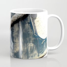 Wood Anchor and Rope Coffee Mug