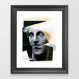 Untitled (Painted Composition 8) Framed Art Print