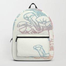 Rainbow Pine Cone Backpack