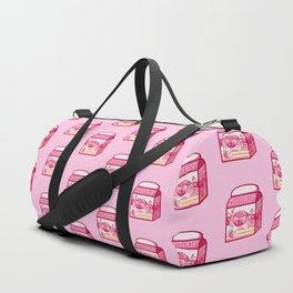 Strawberry Milk Duffle Bag