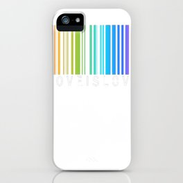 Love is Love - LGBT Pride t-shirt iPhone Case