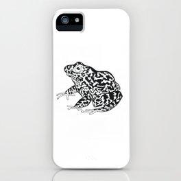 Gopher Tortoise frog iPhone Case