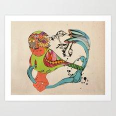 Arteria Art Print