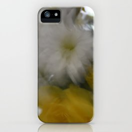 blur flowers iPhone Case