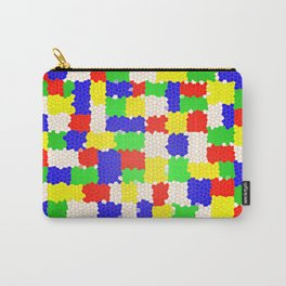 Messy Mosaic Carry-All Pouch