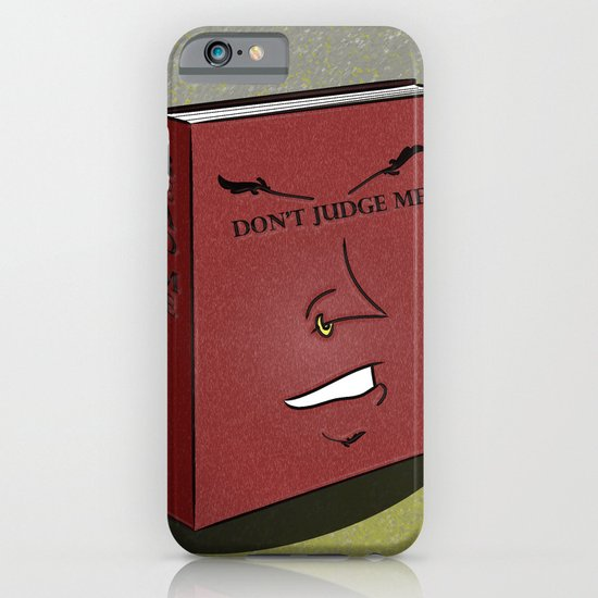 Don't Judge a Book By Its Cover iPhone & iPod Case