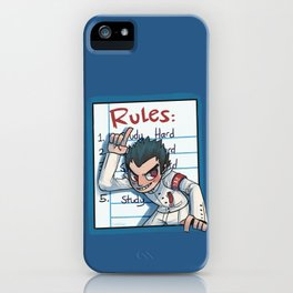 Ishimaru's Rules iPhone Case