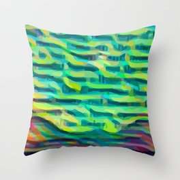 Trek #2 Throw Pillow