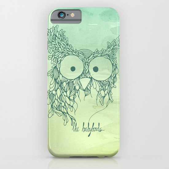 The Babybirds Owl 02 iPhone & iPod Case