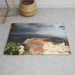 Dark Skies Over Bryce Canyon National Park Rug
