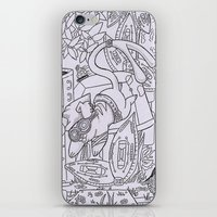 gizmo iPhone & iPod Skins featuring Gizmo mouse by Nixynakks
