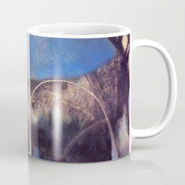Song of the Nightingale, Tuscany, Italy landscape by Joseph Stella Coffee Mug
