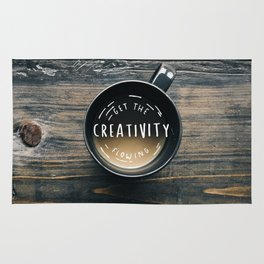 Get the creativity flowing #society6 Rug