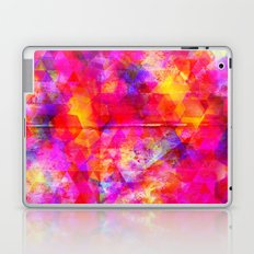 Watercolor and geometric Laptop & iPad Skin