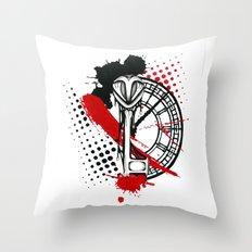 Timekeeper Throw Pillow