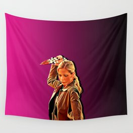 Buffy Slays Wall Tapestry