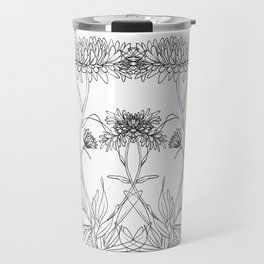 Calendula Flowers Travel Mug