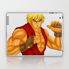 Ken Street Fighter Laptop & iPad Skin
