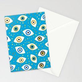 Nazar Eye Amulet pattern #5 Stationery Cards