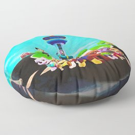 Assembled & Ready For Rescue! Floor Pillow