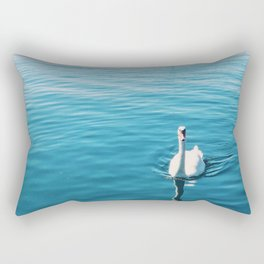 Gliding Waters Rectangular Pillow