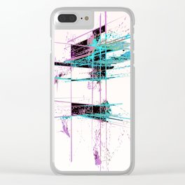 LOCKED Clear iPhone Case