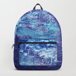 Blue surface London Backpack