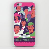 fresh prince iPhone & iPod Skins featuring The Fresh Prince of Bel-Air by Dwele Rosa