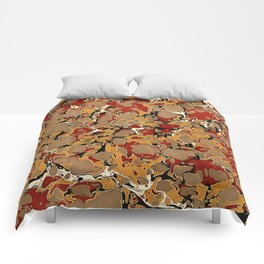 Old Marbled Paper 04 Comforters