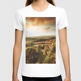 vermont aerial view  T-shirt
