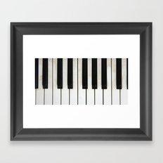Lost melodies Framed Art Print