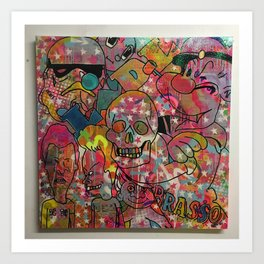 """'Right here, right now"""" by Barrie J Davies 2015 Art Print"""