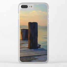 Santa Cruz Clear iPhone Case