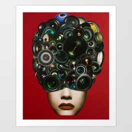 See Through Art Print