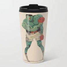 ...stings like a bee! Metal Travel Mug
