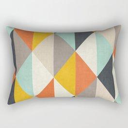 Triangle Pattern III Rectangular Pillow