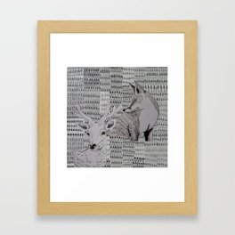 I skogen Framed Art Print