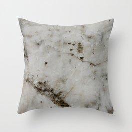 alabaster Throw Pillow