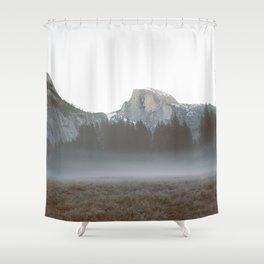 Morning Mist, Yosemite Shower Curtain