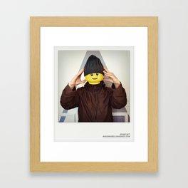 Minifig me ! – Everyone has a LEGO piece inside - 6 Framed Art Print